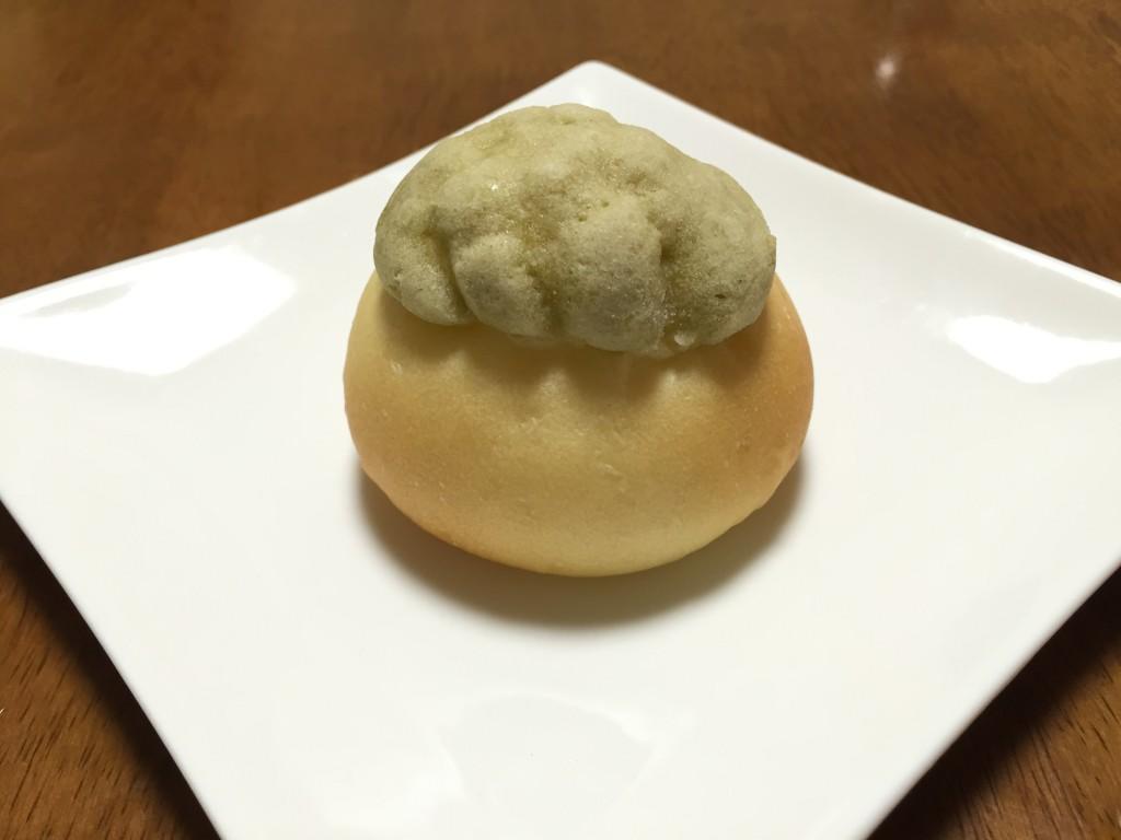 ビシェットの抹茶クリームパン