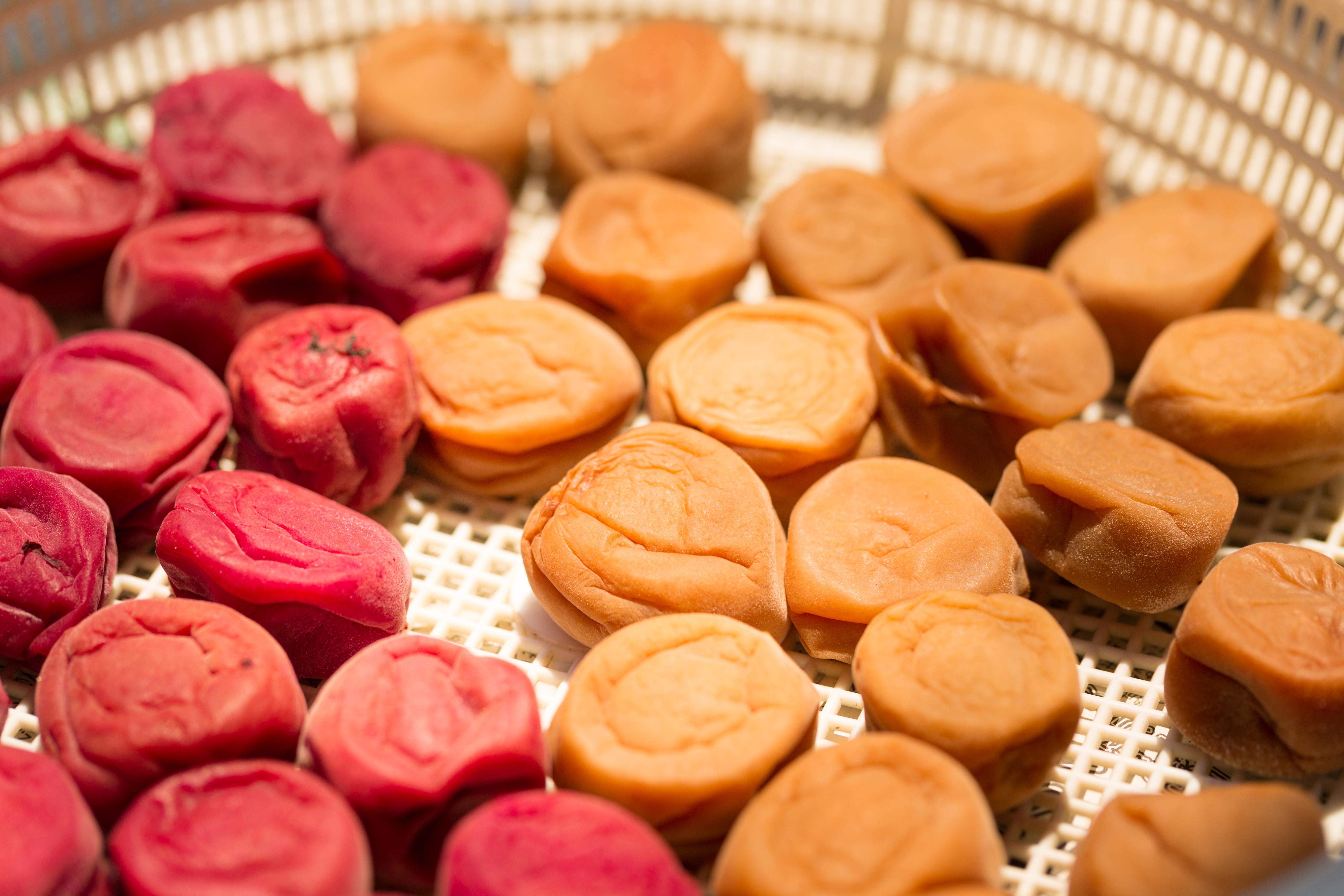 7種類の自家製梅干しのレポ。塩の種類は?自家製ゆかりの作り方