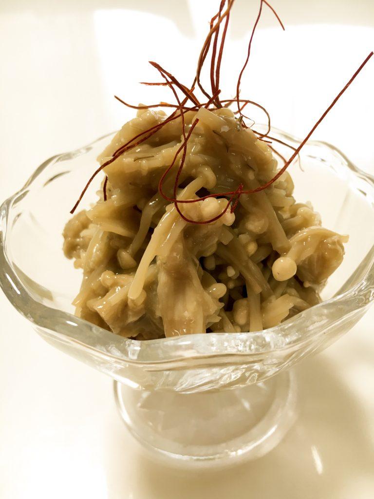 野菜ソムリエ ポットリックパーティー料理 ヒラタケとえのきのパスタ
