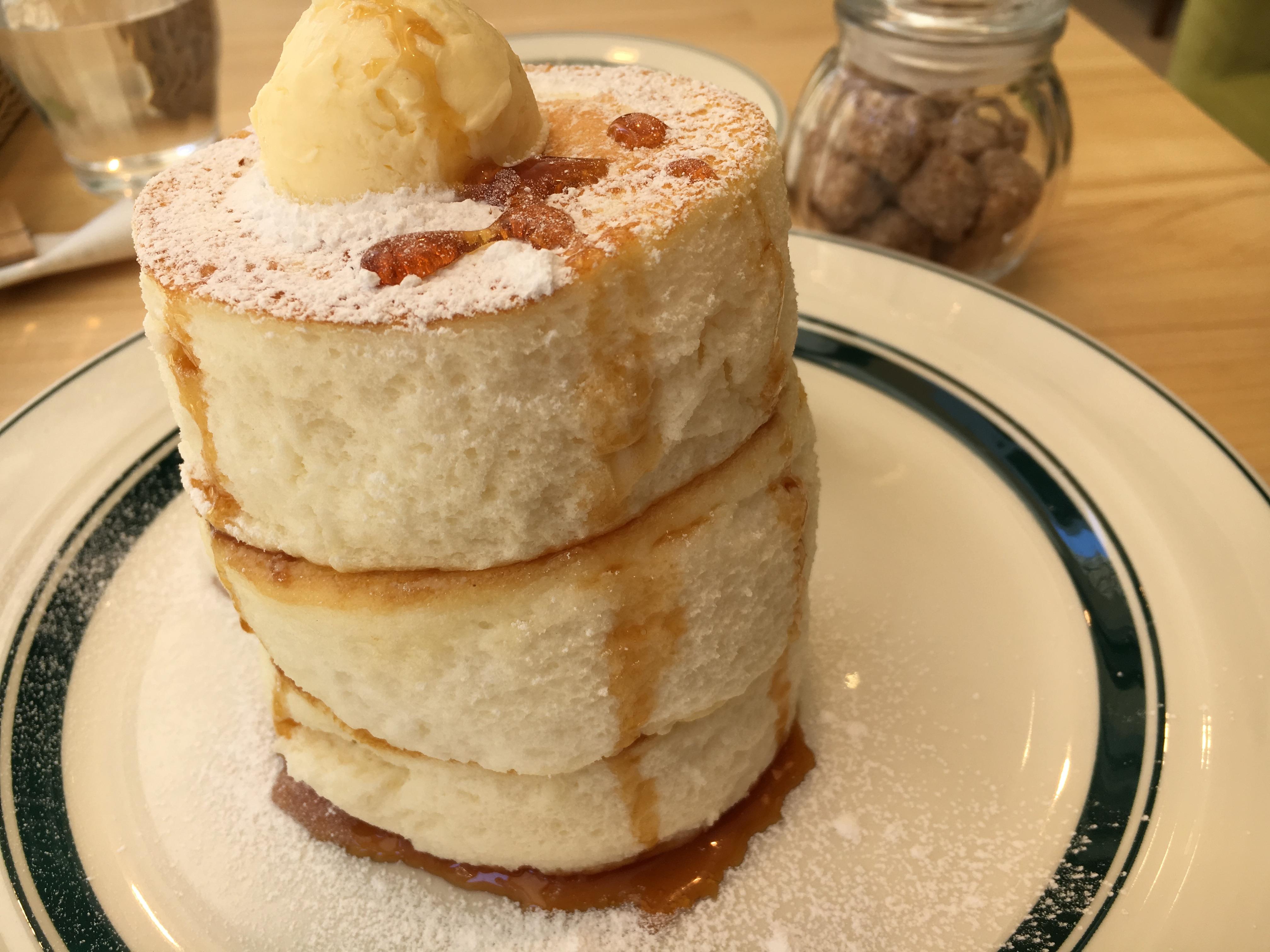 10分で完売!gramのパンケーキはとろける、ふわふわ〜! in 名古屋 大須
