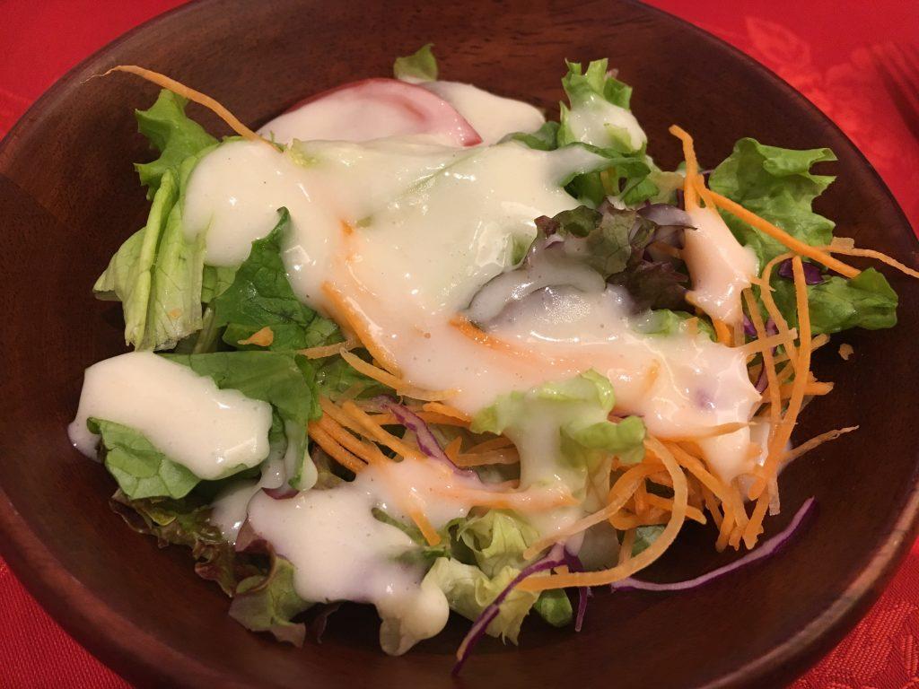 銀座イタリー亭のサラダ