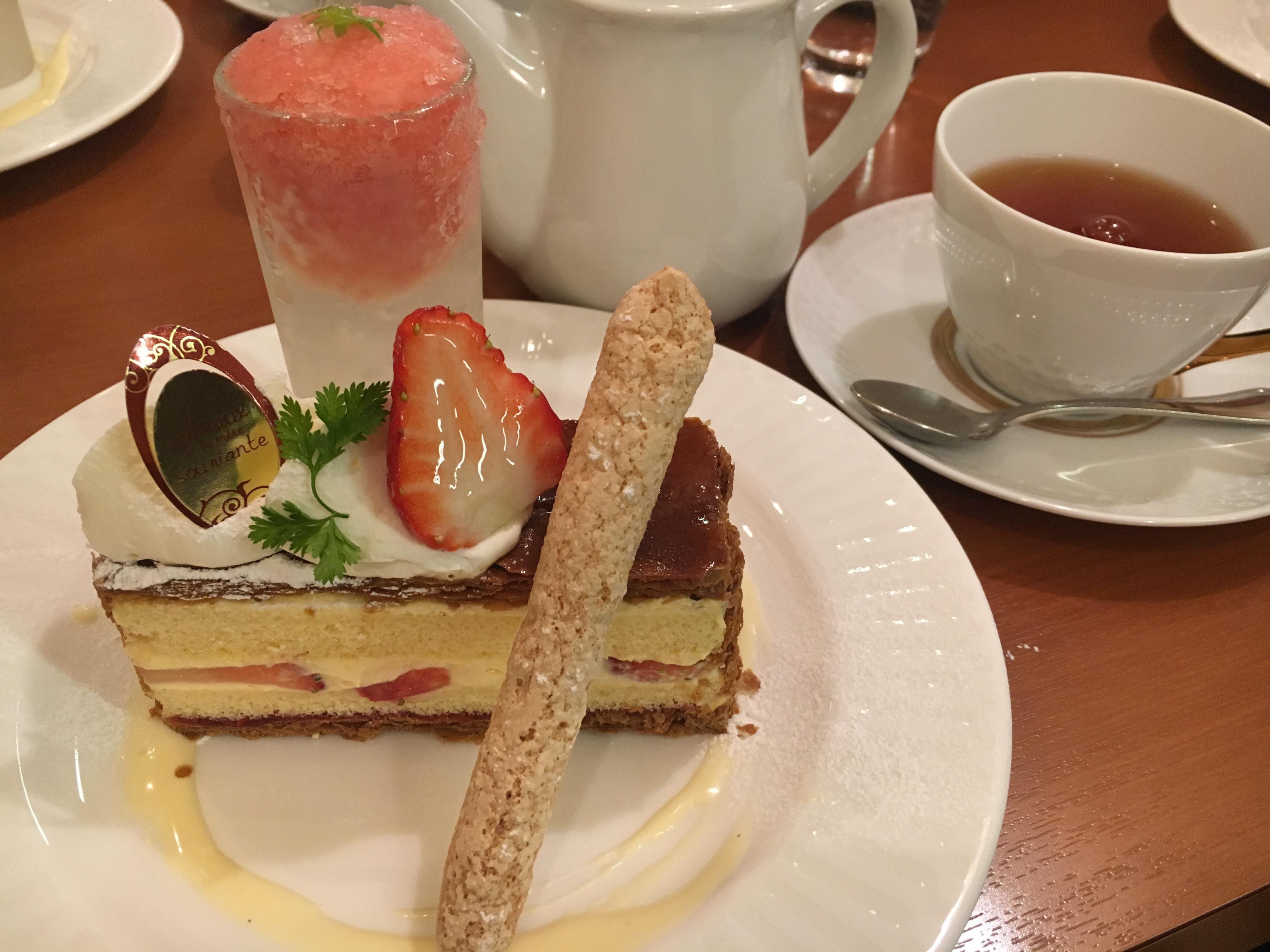【名古屋東別院】ガトーデュラメールスリアンのケーキセットが魅力