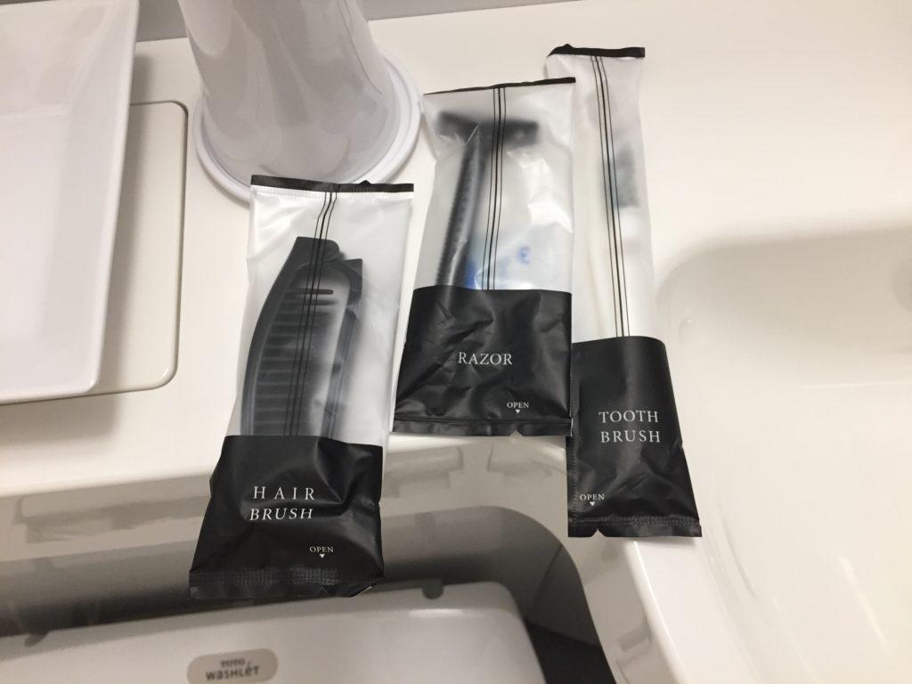 福井マンテンホテル駅前 髭剃り