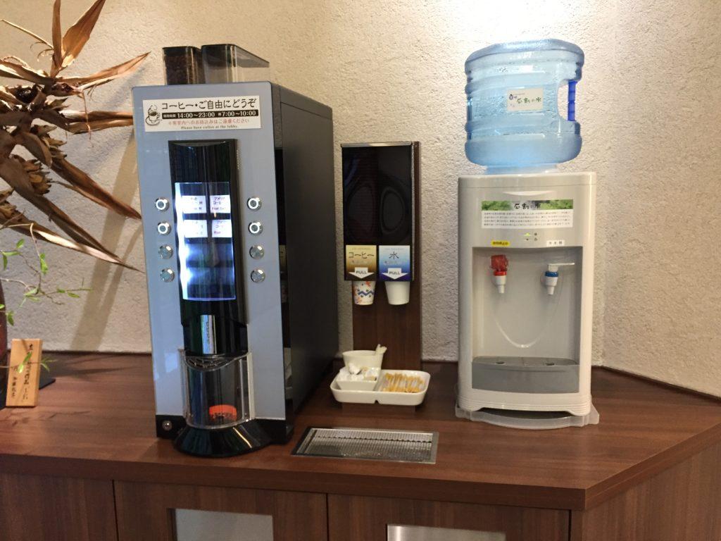 福井マンテンホテル駅前 コーヒーメーカー