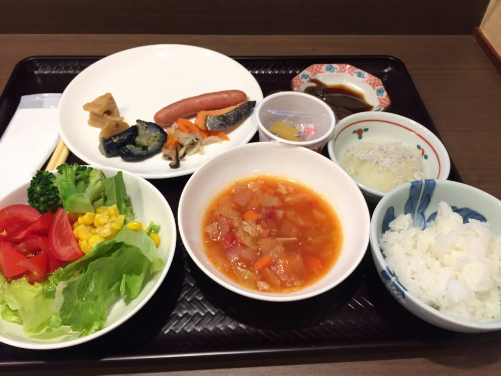福井マンテンホテル駅前 朝食5