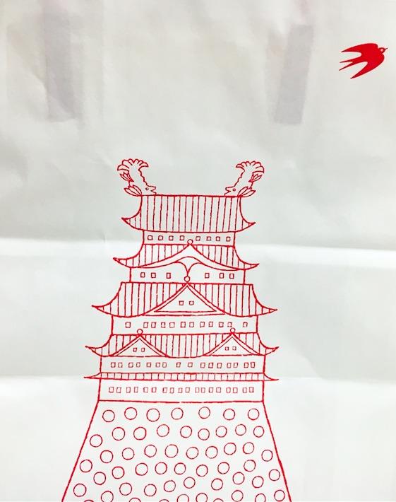 ツバメヤ大名古屋ビルヂング店の紙袋