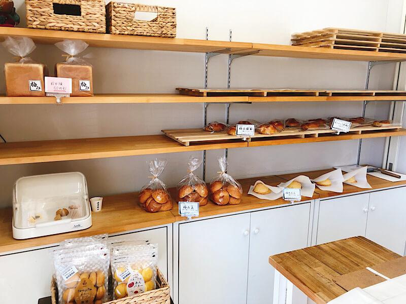 北海道香熟パン極みの内観