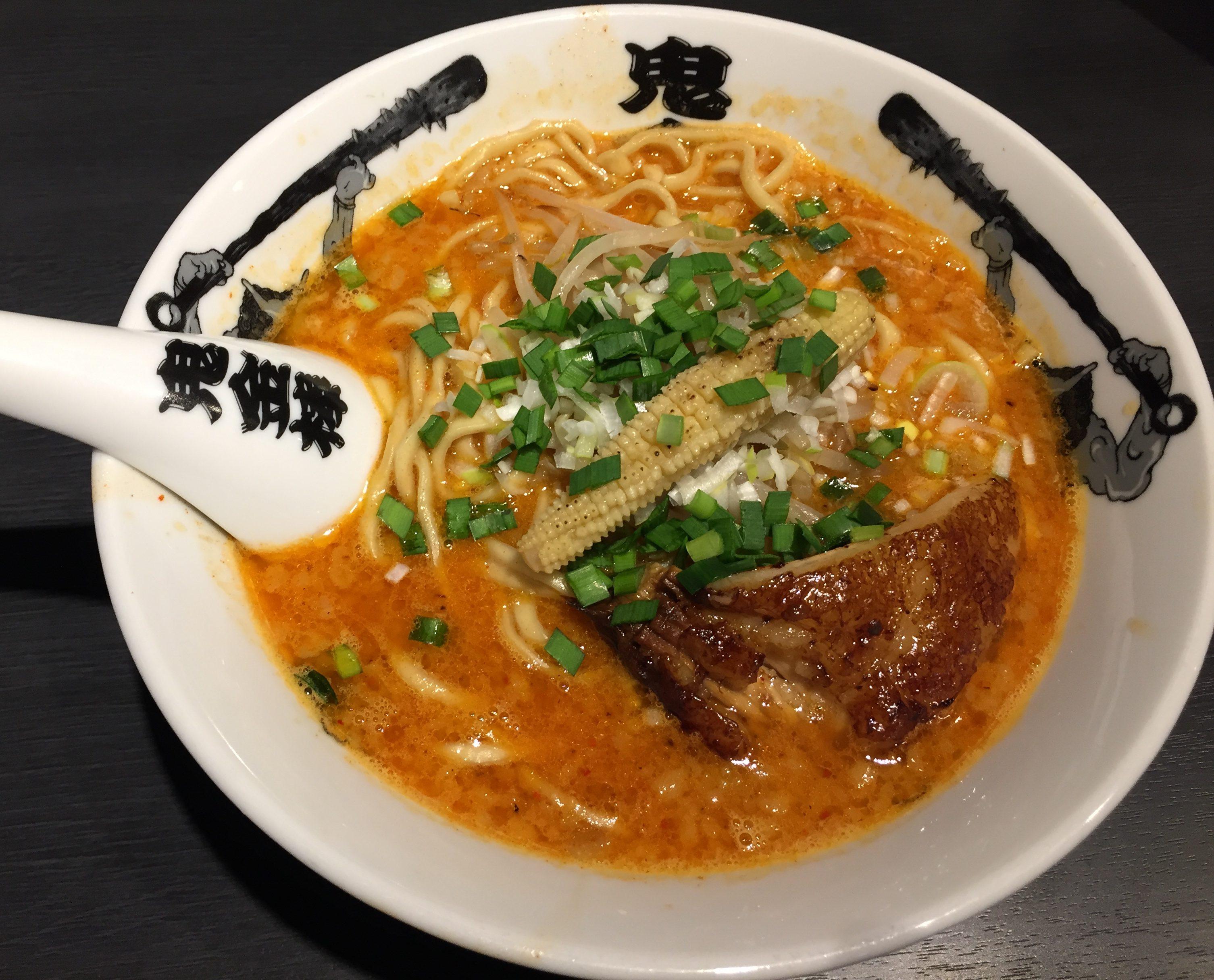 名古屋駅 鬼金棒(きかんぼう)はクセになる美味さ! in 名駅 驛麺通り(えきめんどおり)