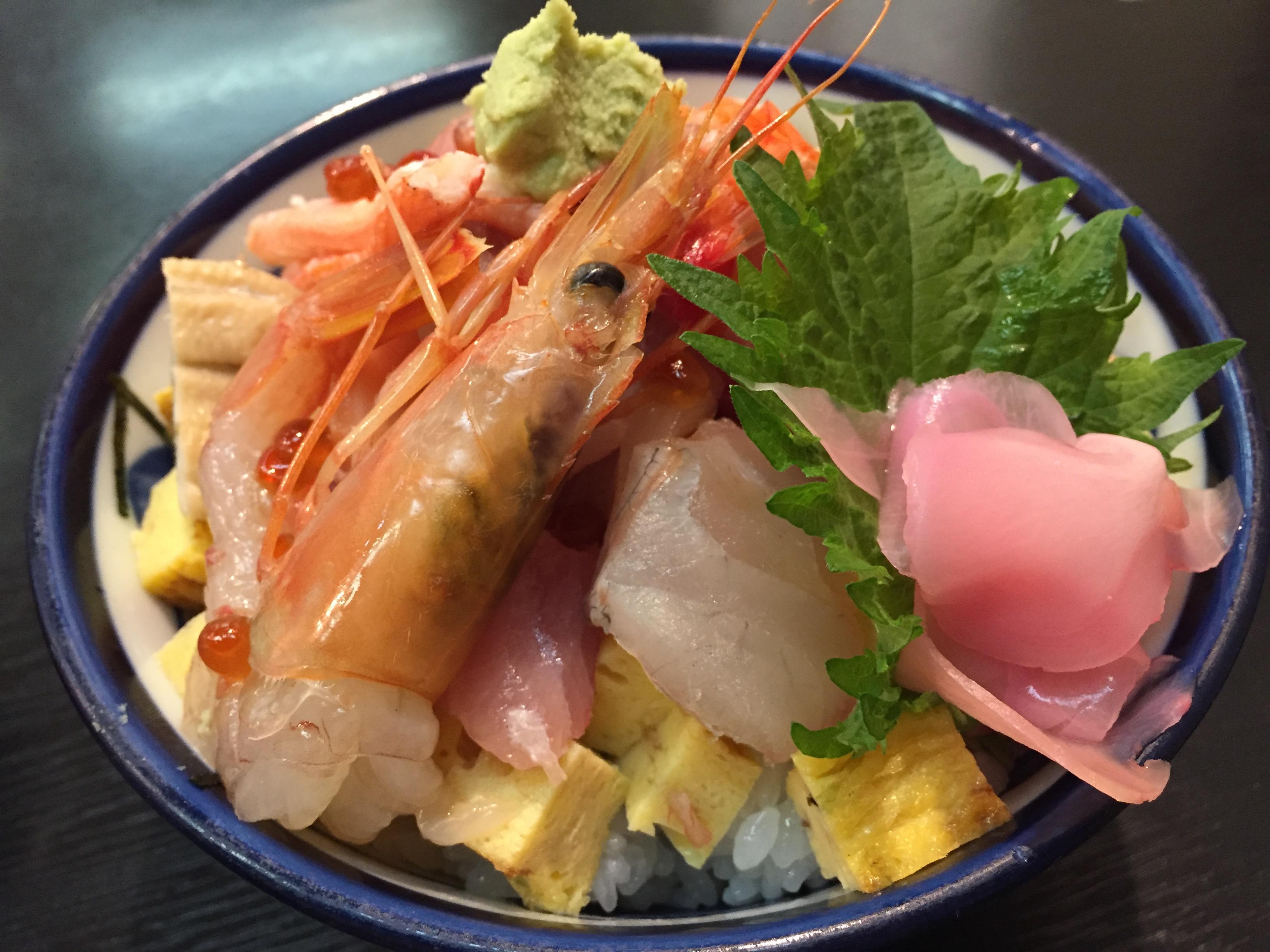名古屋中村区 仙石すしのランチは絶品!海鮮丼などがお値打ちに食べられる。