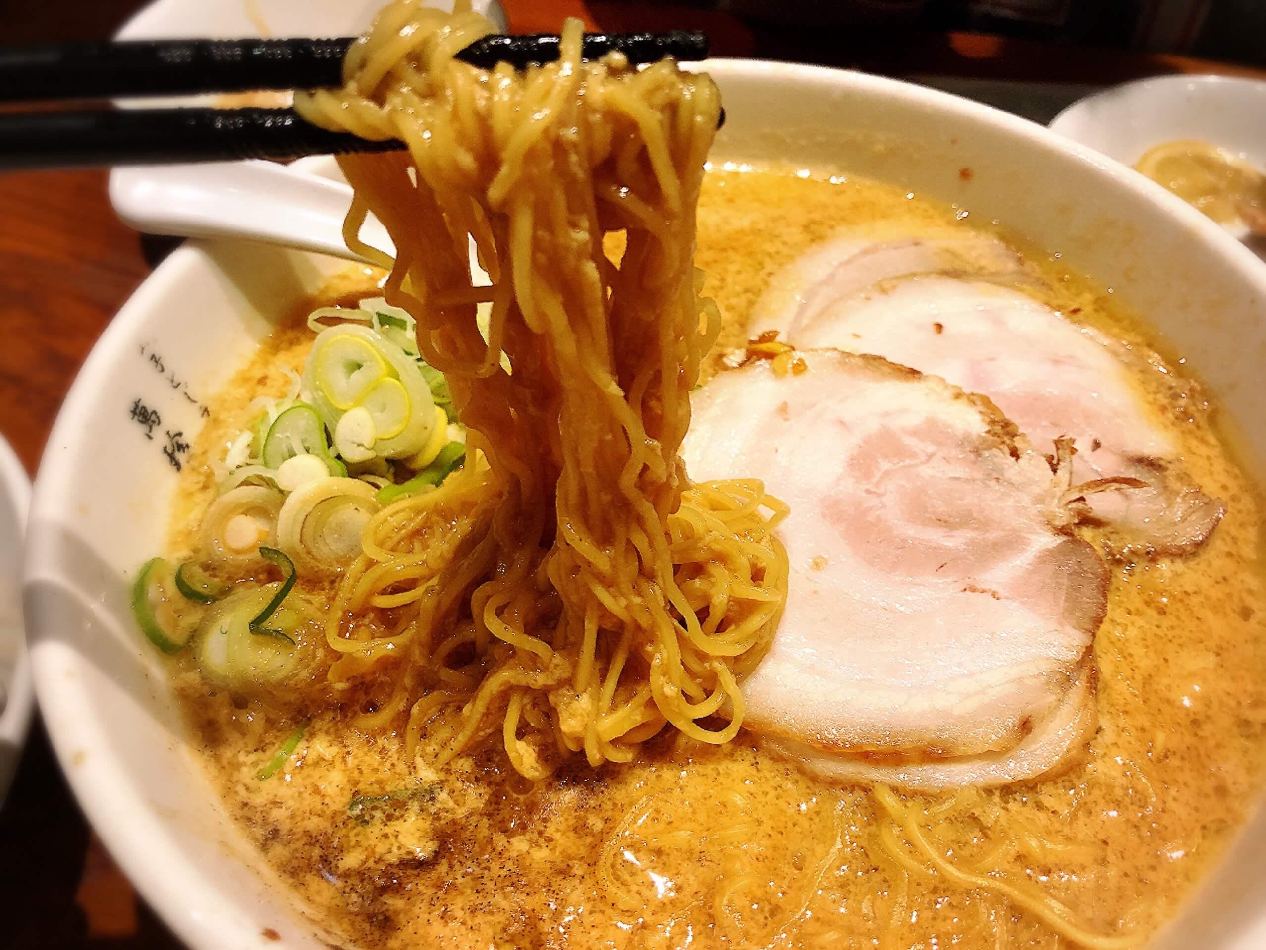 萬珍軒 (マンチンケン)の卵とじラーメン