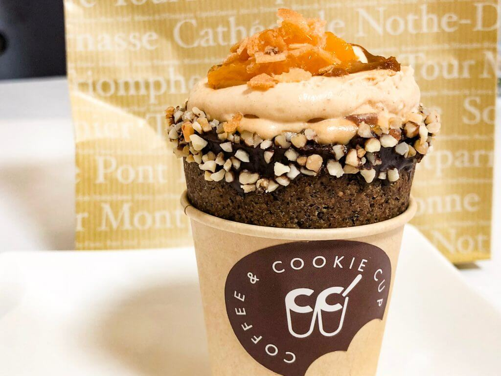 アールアートオブコーヒーのクッキーコップ