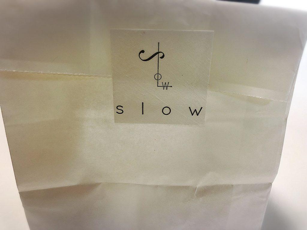 洋菓子スロウの紙袋