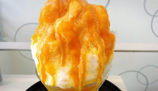 長久手「ヴァイス・ベーレン」のマンゴーのかき氷が超美味しい!行列ができるケーキ屋さん