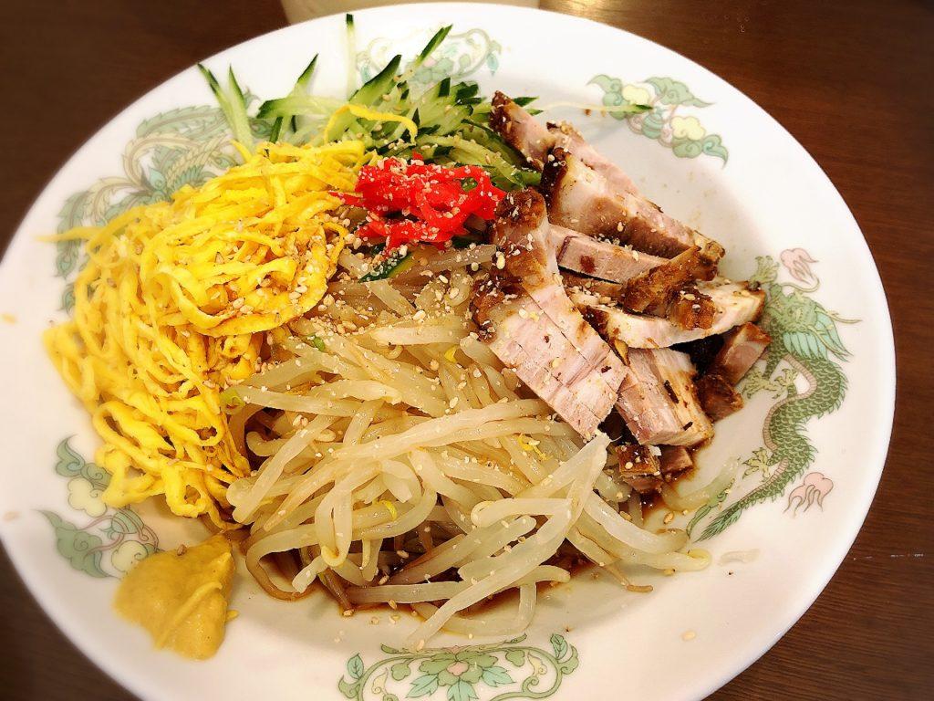チャイニーズレストランはっかいの冷やし中華