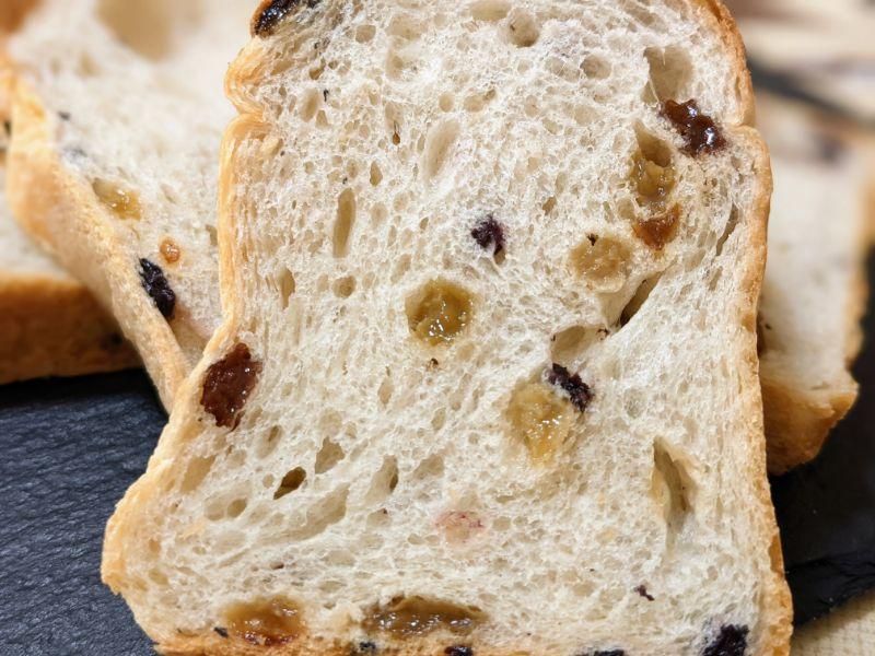 ルシズィエムサンスのレーズン食パン