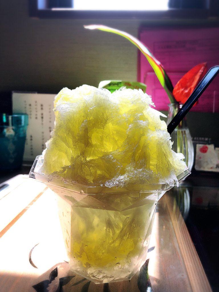 やごとのだんごやのかき氷
