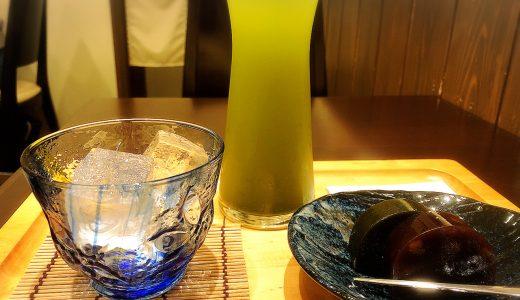名古屋駅にある「茶カフェ深緑茶房」はかき氷や水出し煎茶が美味しい!