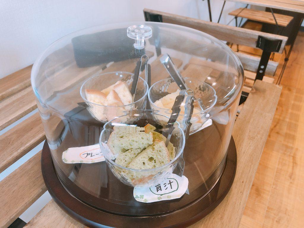 ケイのシフォンケーキの試食