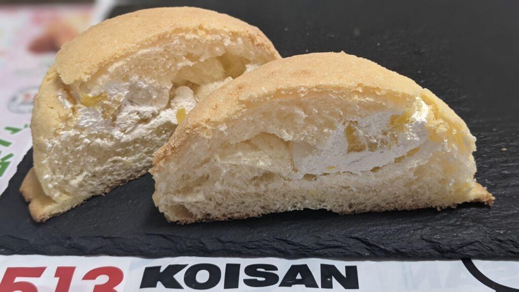 コイサンベーカリーの台湾メロンパン