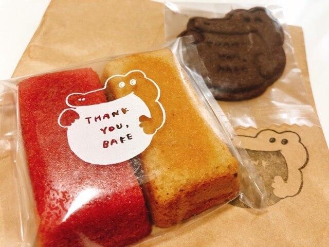 thank you bakeの焼き菓子