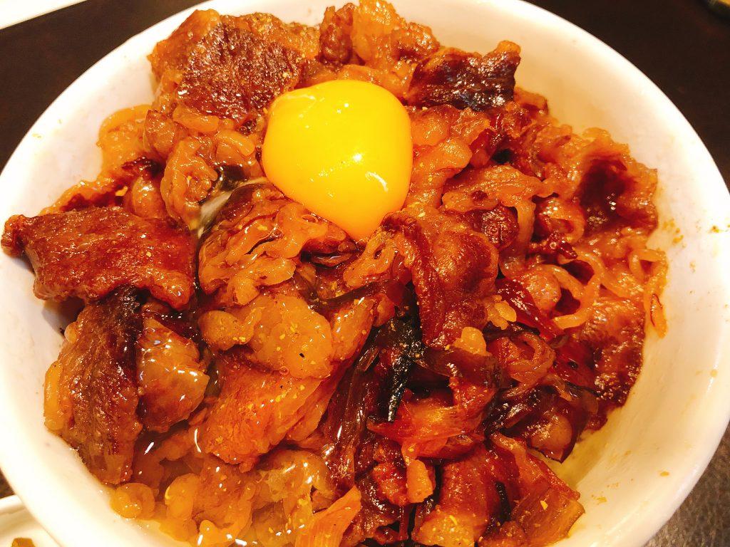 キッチン千代田の牛丼