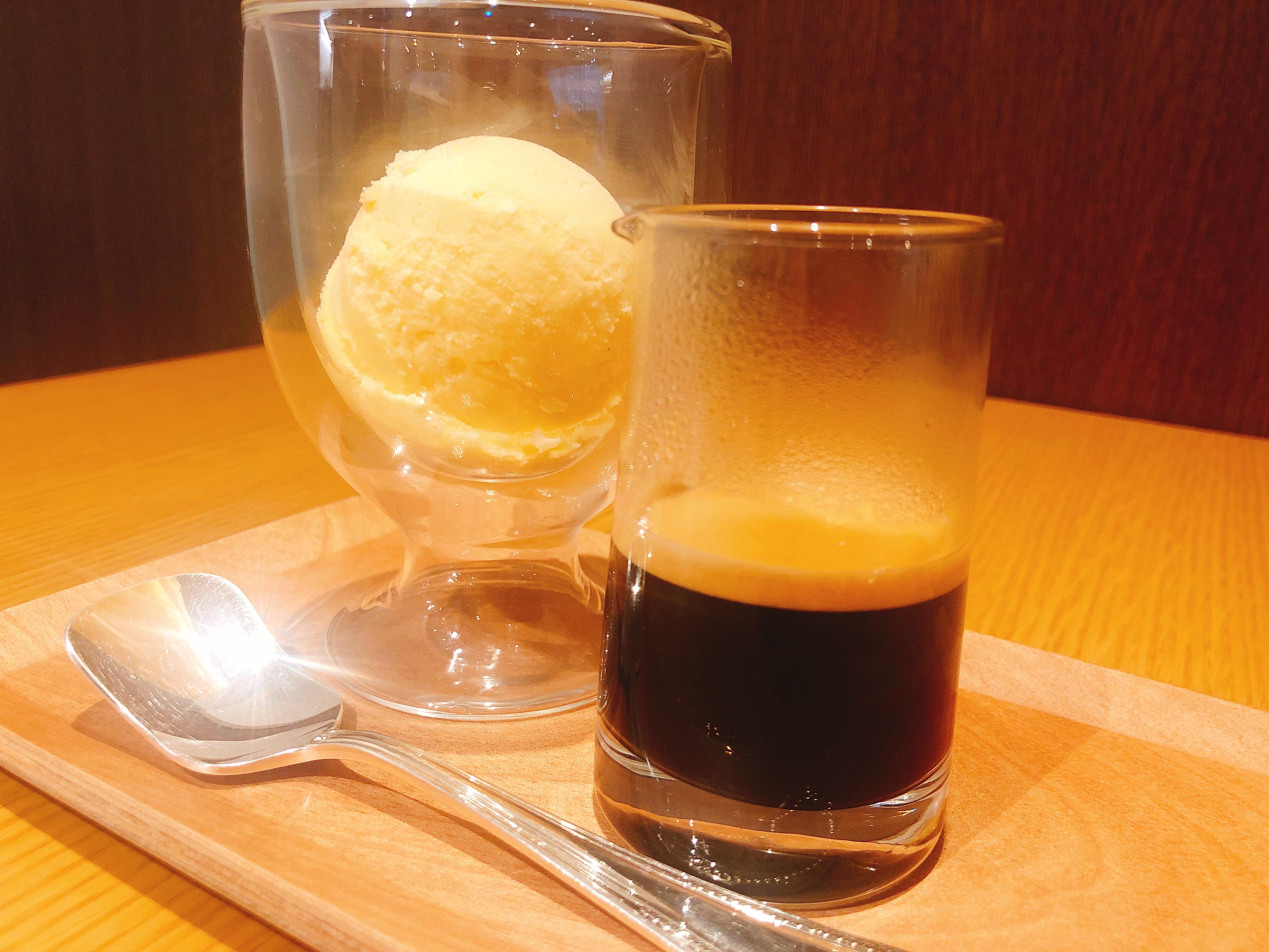 yamacoffeeのアフォガード