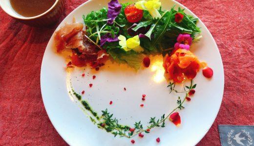 お花に囲まれたカフェ「BLUE BLUE CAFE」のおしゃれなランチが美味しい!岡崎