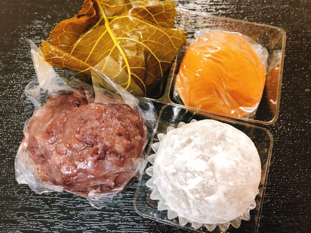 鈴懸の和菓子
