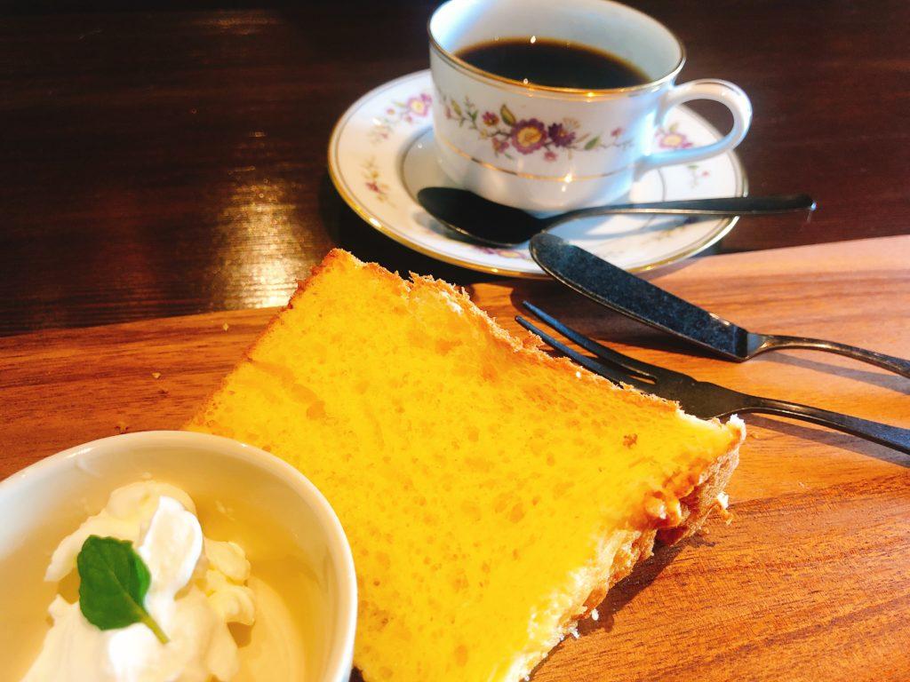 kannokuracoffeeのシフォンケーキ