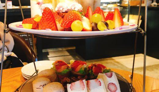 名古屋一社LITRE (リトリ)の「ストロベリーアフタヌーンティー」はどれを食べても美味しい!