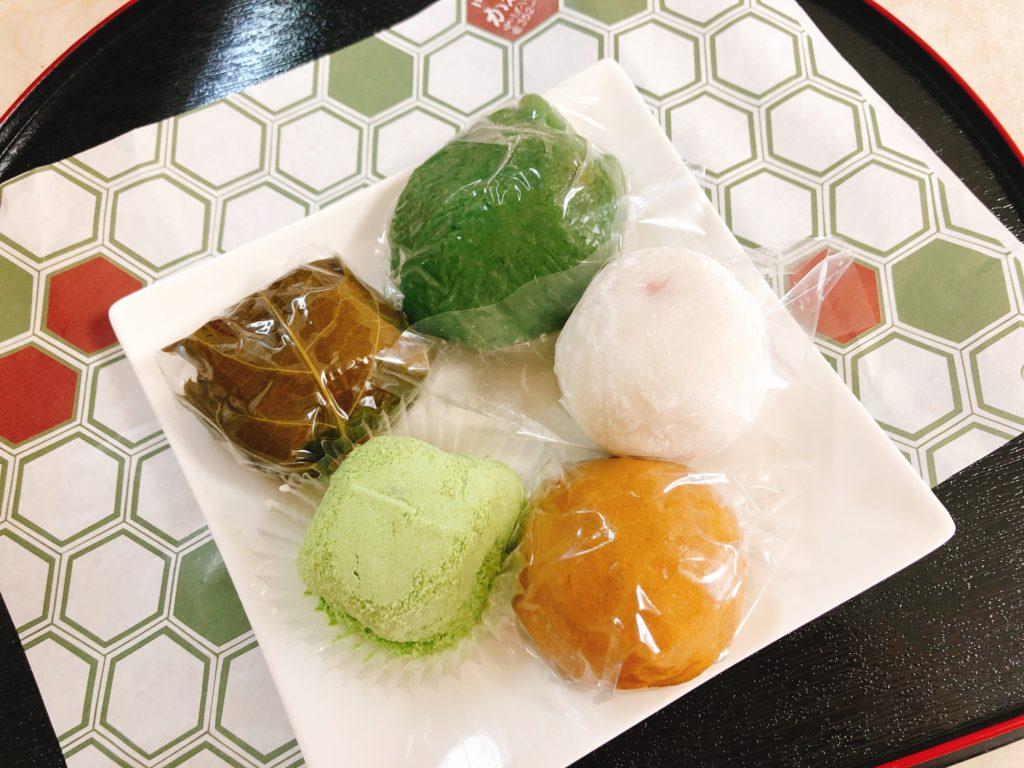 かわ瀬の和菓子