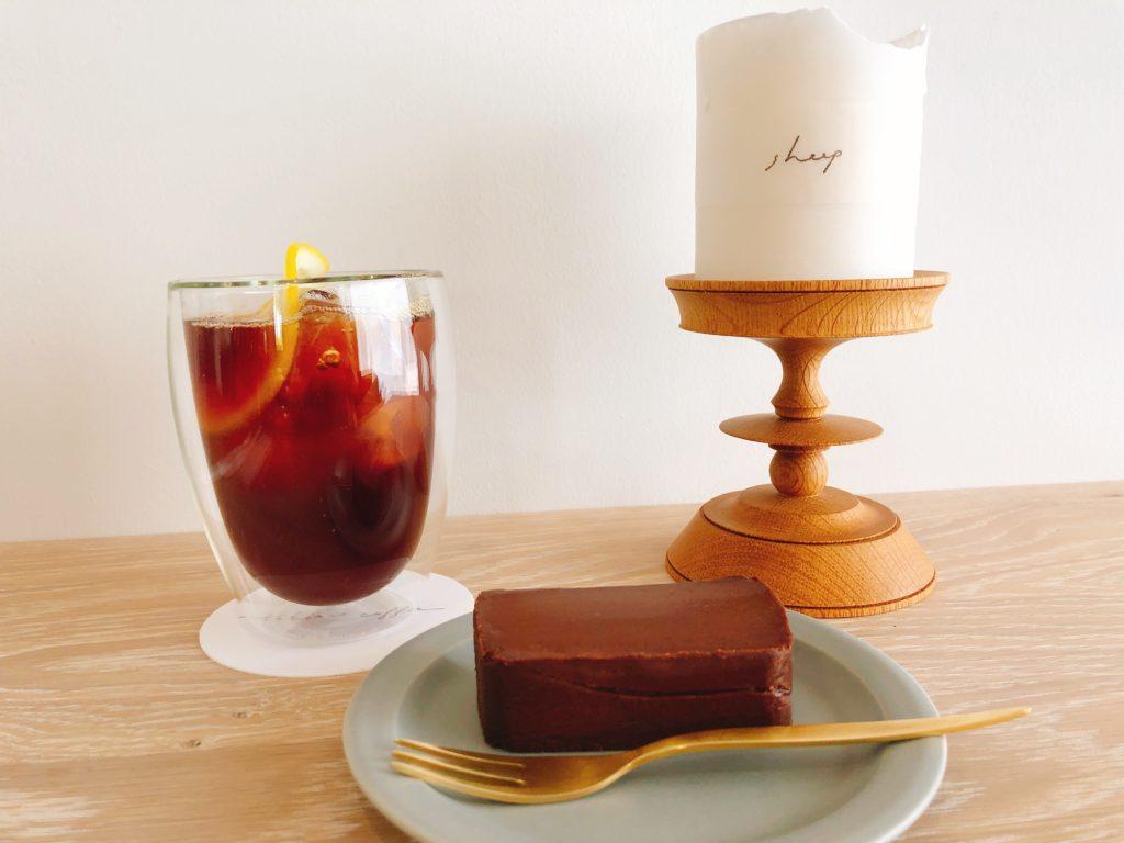 トキイロコーヒーのコーヒーとチョコレートテリーヌ