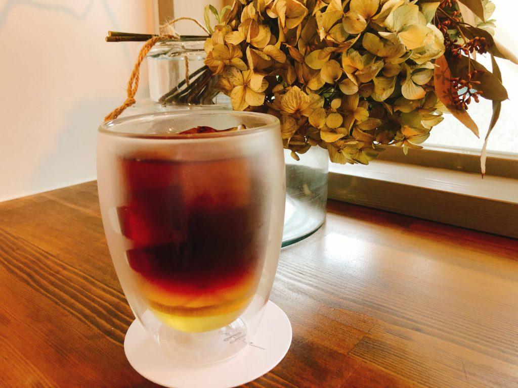 トキイロコーヒーのレモンコーヒー