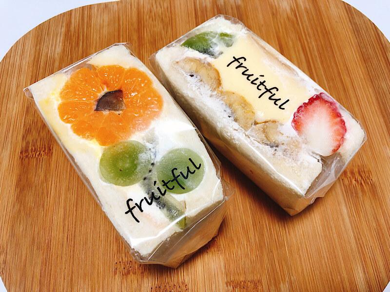 フルーツフルのフルーツサンド