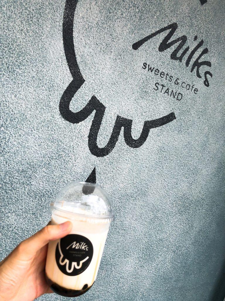 ミルクスカフェの黒糖リッチタピオカミルク