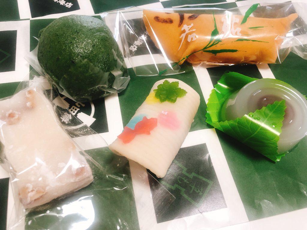 山田餅なるみの和菓子