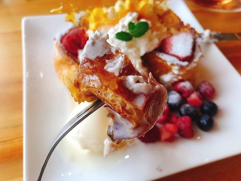 りんりん庵のフレンチトースト