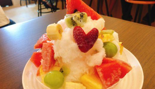 (港区八百屋)ぜんめいやのカフェ「ふるーつ果ふぇ」がオープン!かき氷、フルーツソフトがめちゃうまい!