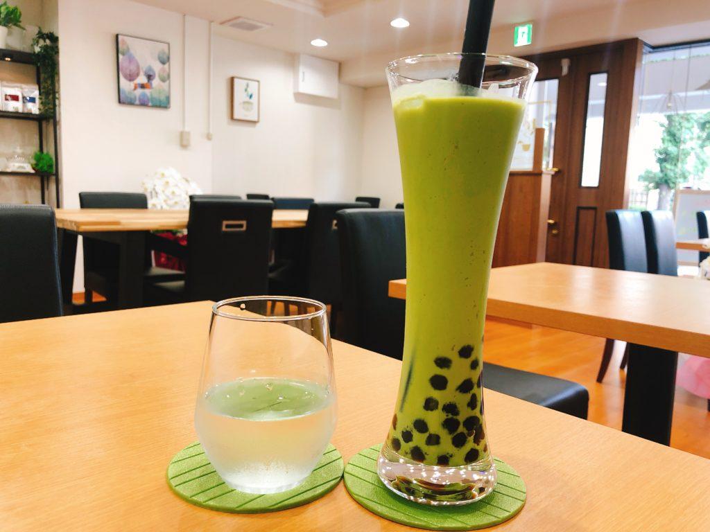 ラプサンスのタピオカ日本茶