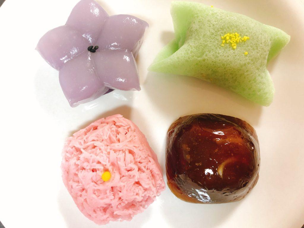 川口屋の和菓子