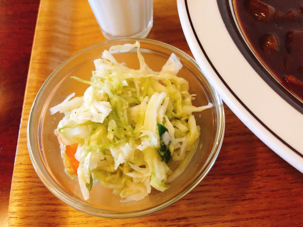 珈琲門のサラダ