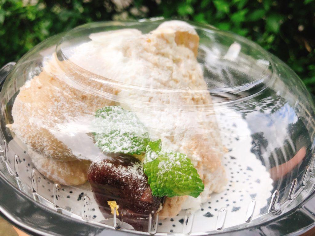 ゴルチャのゴールデンモンブラン(730円)のアップ写真
