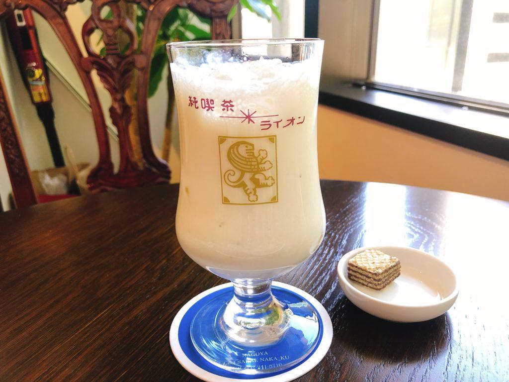 純喫茶ライオンのバナナジュース