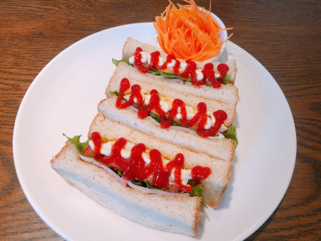 CAZANのサンドイッチ