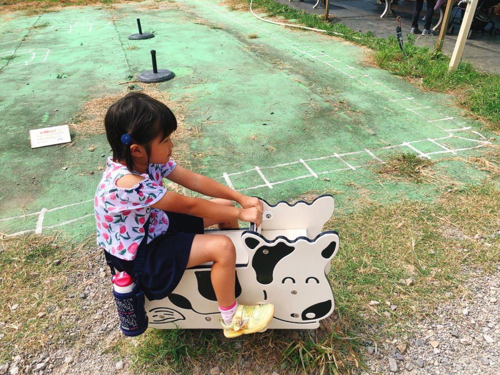 愛知牧場の引き馬ポニー