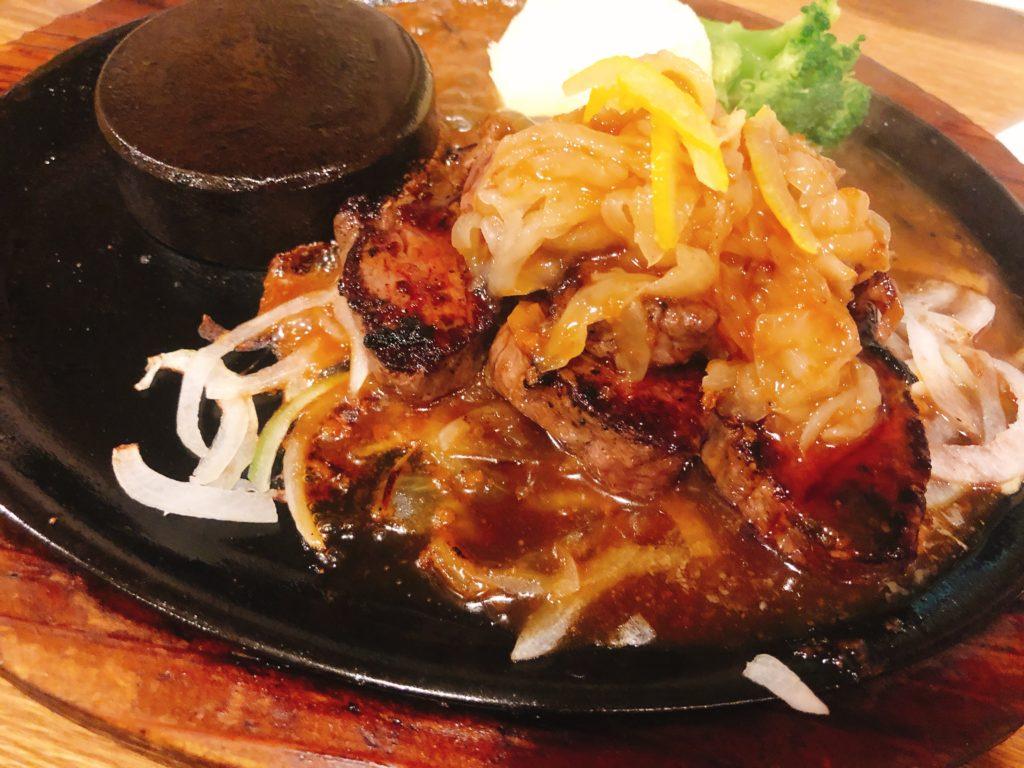 和風カットステーキ 150g(2,280円税別)