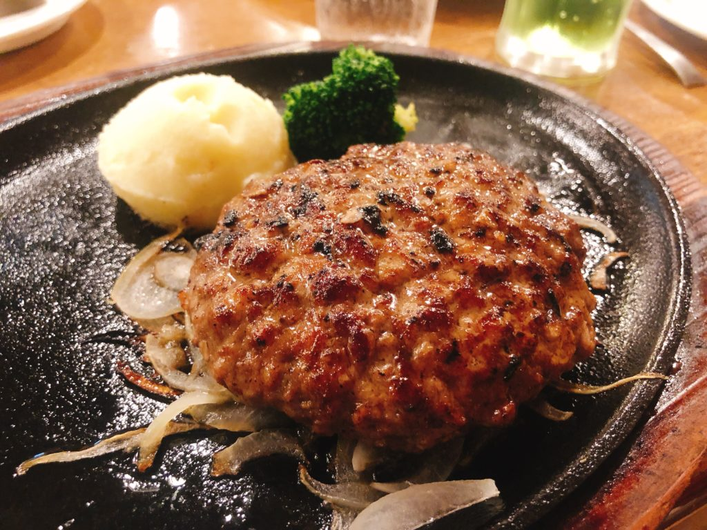 あさくまハンバーグ 180g(1,550円税別)