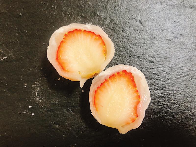 フルーツ大福弁才天の苺大福