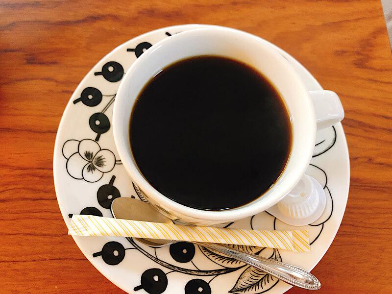 キュームタルトエアのコーヒー