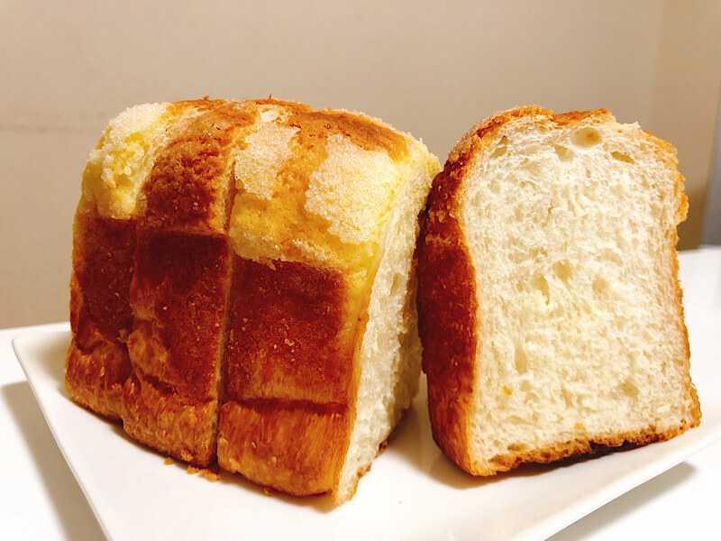 マコパンのメロン食パン